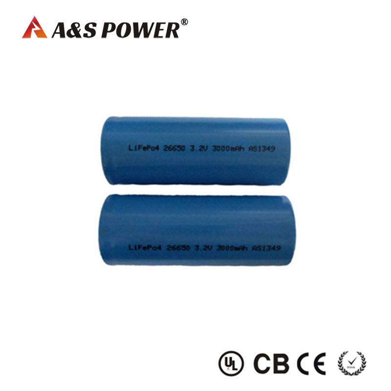 26650 3.2v 3000mah Lifepo4 Battery for power tools