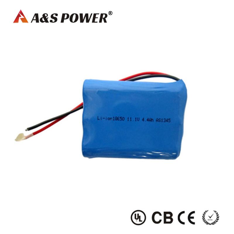 Li-ion 18650 11.1v 4.4ah Battery