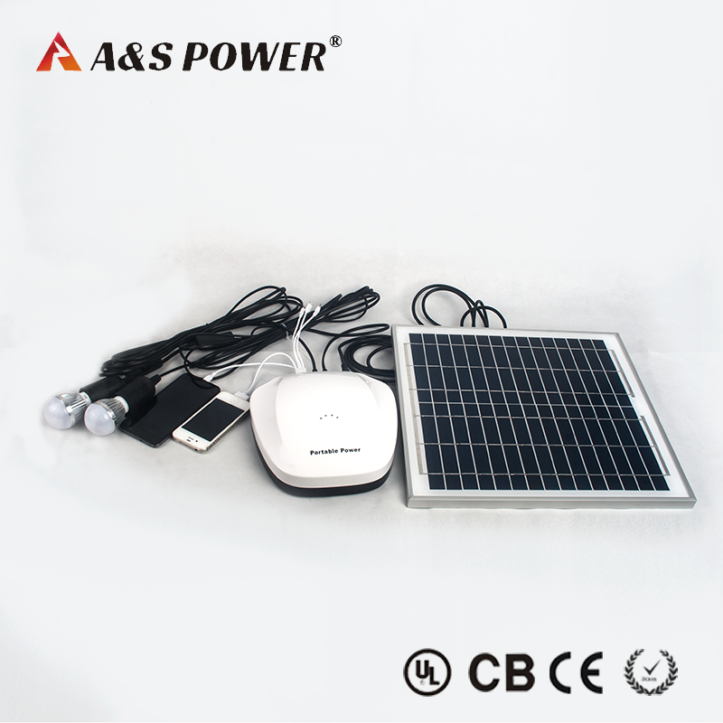 Portable Rechargeable 12v 6Ah Lithium Battery with Solar Panel