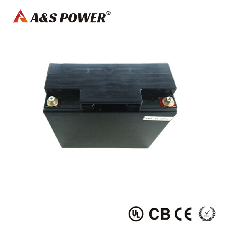 Rechargeable 12v 20Ah lifepo4 battery for solar storage
