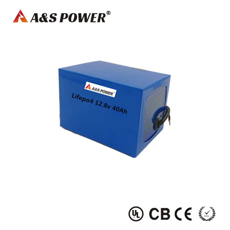 Rechargeable 12v Lifepo4 Battery Pack 40ah Deep Cycle Life Battery For Led Lighting