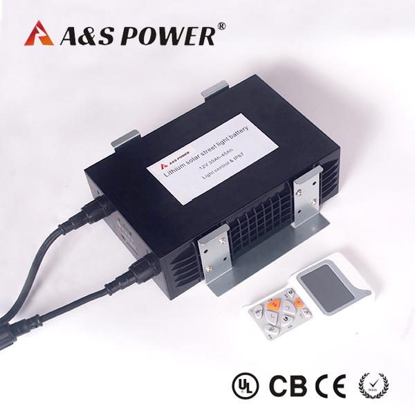 Waterproof Rate IP67 Lithium Battery 12V 30Ah