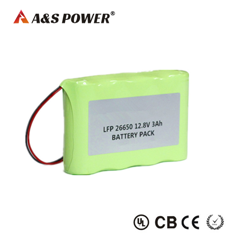 OEM 12v Lifepo4 Battery 26650 Battery Pack Over 2000times Cycle Life