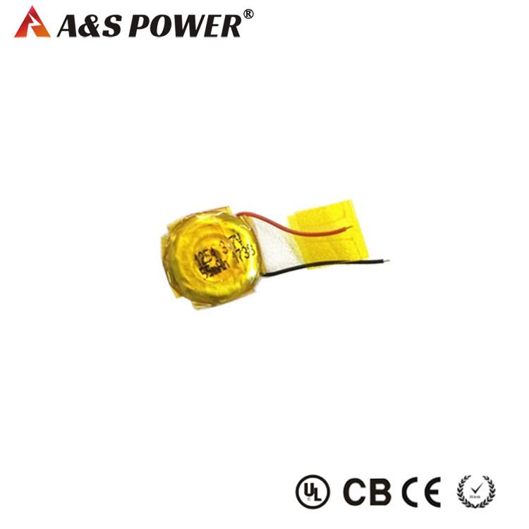 65120 3.7V 55mah lithium polymer button lipo battery