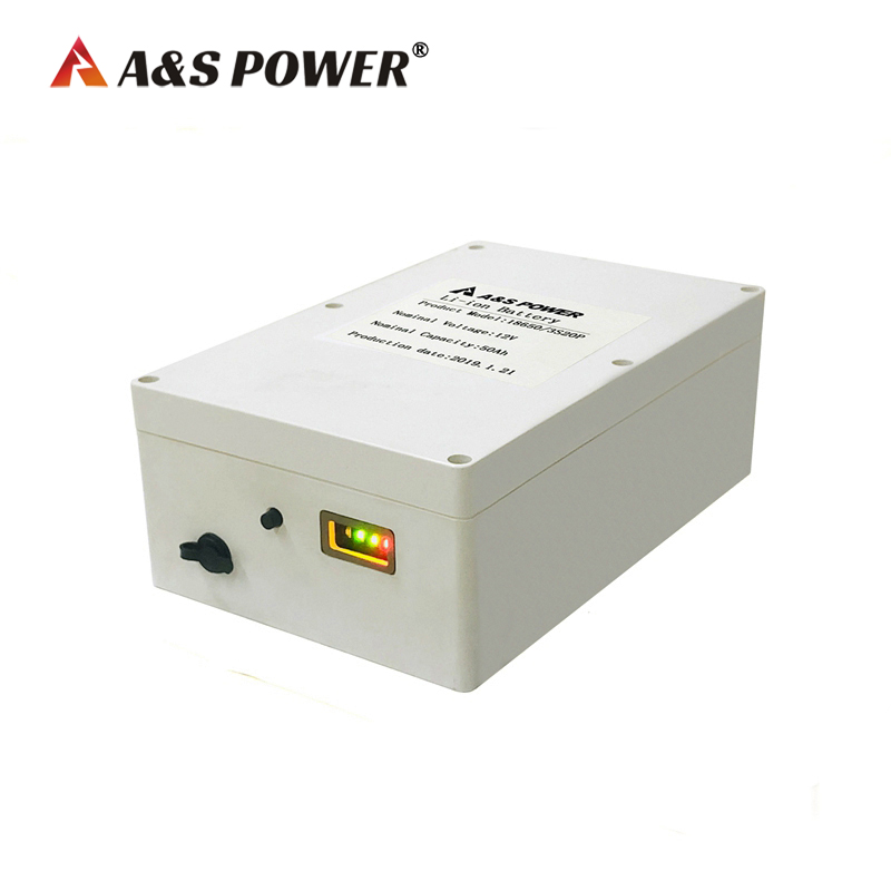 lithium ion battery 12v 50ah rechargeable batteries