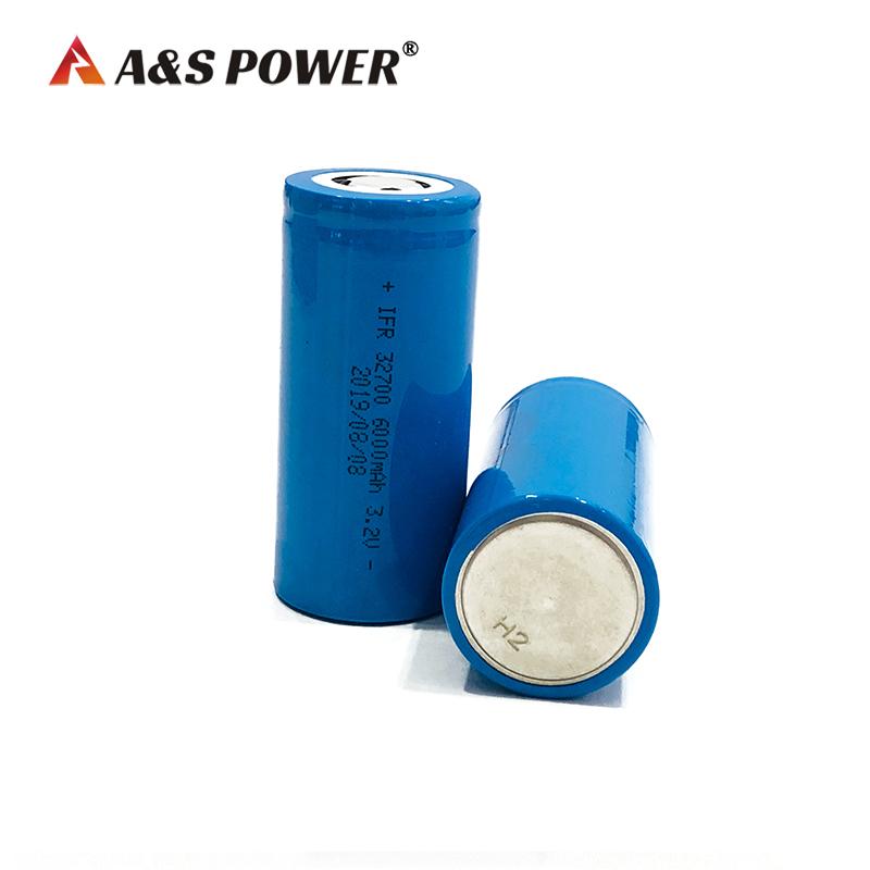 32700 Lifepo4 Battery Cell 3.2V 6Ah LFP Battery