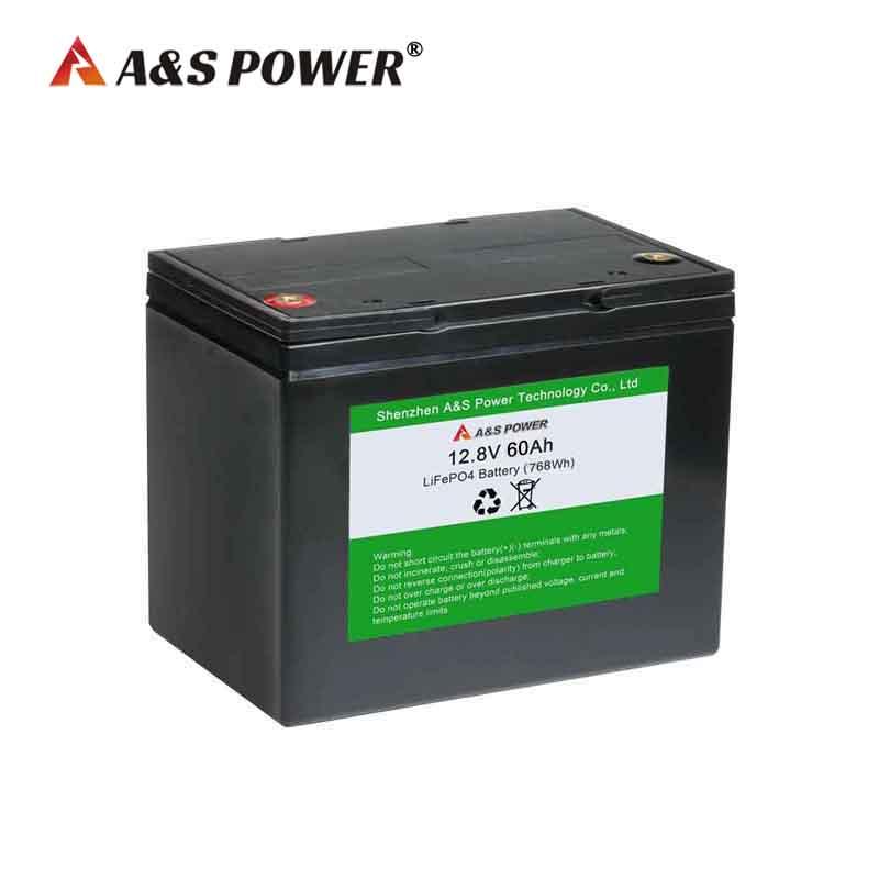 12.8v 60ah lifepo4 battery for solar led light