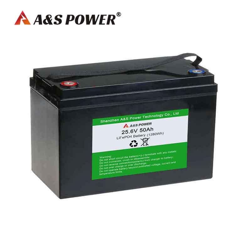 24v 50ah lifepo4 battery for solar power storage