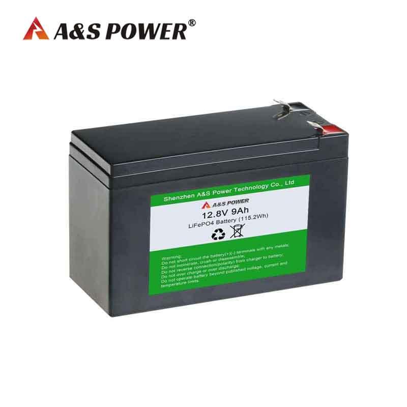 12v 9ah Lifepo4 battery for golf cart/solar light