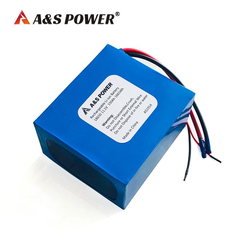 11.1v 150ah lithium ion battery for solar light