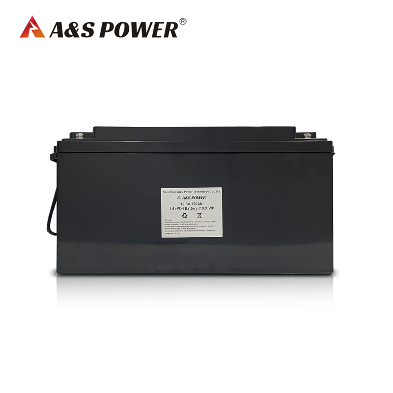12.8v 150Ah Built-in BMS LFP CELL lifepo4 battery for Golf Carts / electric vehicles / Solar energy