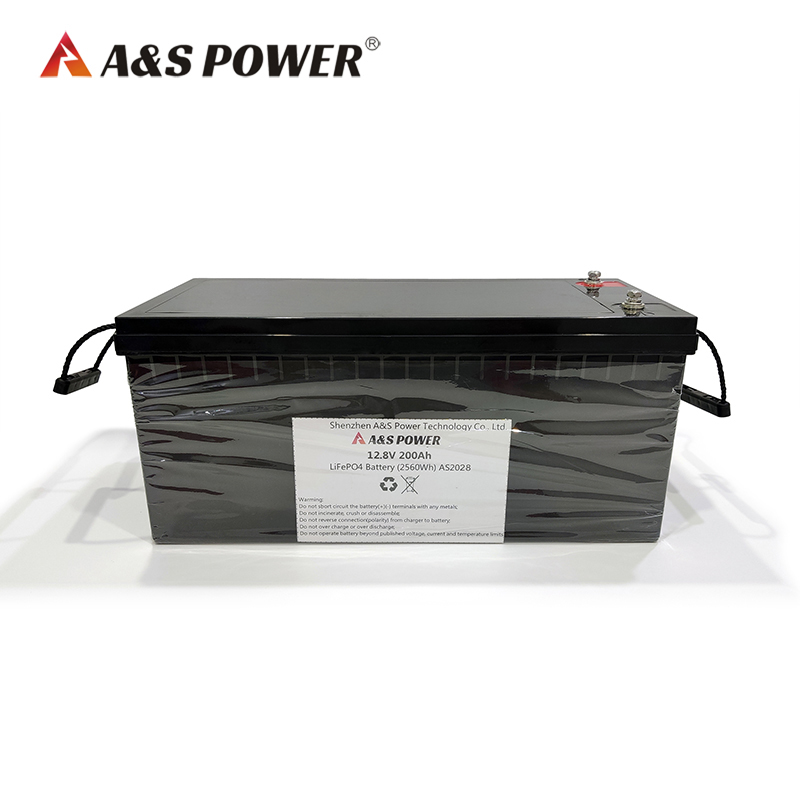 12.8V 200ah lifepo4 battery with BMS